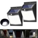 Оригинал 80 LED Солнечная Power Light PIR Motion Датчик Безопасность На открытом воздухе Сад Стена Лампа