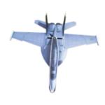 Оригинал F18 PP 882mm Wingspan RC Самолет Фиксированный комплект