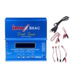 Оригинал IMAX B6AC 80W 6A Обновленный балансный зарядный разрядник для Lipo / Li-ion / LiFe / NiMh Батарея