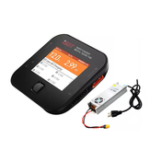 Оригинал ISDT Q6 Pro BattGo 300W 14A Pocket Lipo Батарея Балансировочное зарядное устройство с адаптером питания LANTIAN 400 Вт