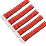 Оригинал 5PCS 6S 7Pin 2.54XH 30cm Lipo Батарея Зарядное устройство Силиконовый Провод Весы удлинительный кабель