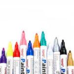 Оригинал TOYO RC 8ml Marker Painting Ручка Красный Фиолетовый Синий Золото для Рамки Набор FPV Гонки Дрон DIY Дизайн