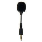 Оригинал Мини 3,5-мм разъем для мобильного телефона Гибкий микрофон 4-полюсный стерео Микрофон для iPhone Android Смартфон Recorder