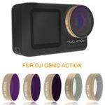 Оригинал Оптическое стекло Объектив Фильтр UV CPL ND STAR Набор для DJI OSMO ACTION Sports камера