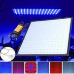 Оригинал 225 LED Grow Light Лампа Ультратонкая панель для гидропоники в помещении Растение Veg Flower