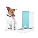 Оригинал XIAOMI PETKIT Smart Собака Кот Кормушка Кот Кормушка Инфракрасный Датчик Управление мобильным телефоном Pet