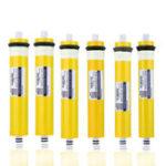 Оригинал Элемент обратного осмоза фильтра системы воды очищенной мембраны RO 50-400GPD