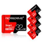 Оригинал Microdrive8ГБ16GB32GB64GB 128 ГБ C10 Класс 10 высокоскоростных карт памяти TF с адаптером карты для мобильного телефона iPhone Samsung Huawei Xiaomi