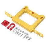 Оригинал WPL задний бампер протектор для WPL B14 B16 B24 1/16 RC Авто запчасти с золотом Крюк