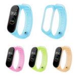 Оригинал BakeeyУниверсальныеполупрозрачныечасызаменыцвета Стандарты для Xiaomi Стандарты 4 & 3 Smart Watch
