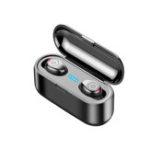 Оригинал Мини Беспроводная Стерео Bluetooth 5.0 Наушники IPX7 Водонепроницаемы Сенсорный Наушник Шумоподавление Наушники громкой связи