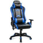 Оригинал ModernLuxe Офисный Стул Racing Gaming Chair PU Кожаный Поворотный Компьютерный Стул Регулируемая Высота Вращающийся Подъемный Стул Откидной Складной Ст