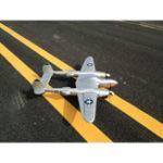 Оригинал MD P38 1200мм Размах крыльев EPO RC Самолет Lockheed P-38 Подсветка Zoom Самолет PNP Фиксированное крыло