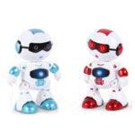 Оригинал LeZhou Smart Touch Control Программируемое Голосовое Взаимное Пение Танец RC Робот Игрушка в Подарок Для Детей