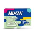 Оригинал MIXZA 16G C10 Профессиональная высокоскоростная карта памяти для мобильного телефона Видеорегистратор IP Sport камера