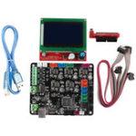 Оригинал MKS BASE V1.6 Интегрированная материнская плата с экраном 12864 LCD Набор для 3D-принтера