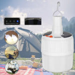 Оригинал 30Вт 50Вт перезаряжаемый 5 в 1 Солнечная Лампа Кемпинг Палатка Лампа Аварийный поход На открытом воздухе Подвесной светильник