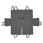 Оригинал Pet Авто Чехол на сиденье Собака Коврик для безопасности Подушка для защиты заднего сидения Гамак