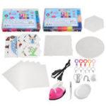 Оригинал 10000Pcs 48 Цвет Аква Refill Water Beads Предохранитель Липкий DIY Craft Art Toys + Утюг