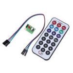 Оригинал Инфракрасный модуль SCM Дистанционное Управление + приемник HX1838 + NEC кодированный инфракрасный Дистанционное Управление для Arduino