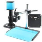 Оригинал 2019 FHD 1080P Промышленный автофокус IMX290 Видеомикроскоп камера U Дисковый рекордер CS C Mount камера Для SMD PCB Пайка