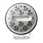 Оригинал 5 дюймов 80W 9V-32V 12V 25 LED Рабочий свет Круглый мотоцикл Противотуманная фара Лампа Внедорожник ATV 4WD