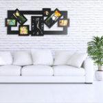 Оригинал Фоторамка Nordic Стиль Стены Часы DIY Modern Desigh Multi Photo Art Фоторамка Часы Для Гостиной Horloge Home Decor