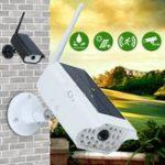 Оригинал 1000LM LED солнечный Light Dummy Security камера PIR Motion Датчик Стена Лампа