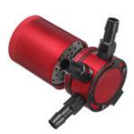 Оригинал Универсальный 3-портовый Масло Catch / Can / Tank / Reservoir Air-Масло Сепаратор Racing Baffled Двигатель