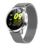 Оригинал Bakeey CF18 Металлический Корпус 1.22 'Закаленное Стекло Отказ от артериального давления Call Music Control Smart Watch