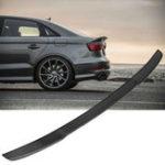 Оригинал Крыло спойлера заднего багажника с полным карбоновым волокном для 14-18 Audi A3 S3 RS3 седан V Тип 4Door