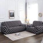 Оригинал 1/2/3/4 Seater Эластичные чехлы на кресла-стулья Slipcover Settee Стрейч Цветочный протектор дивана