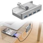 Оригинал ORICO USB 3.0 USB-концентратор с 4 портами USB 3.0 Дизайн для смартфонов, планшетных ПК, ноутбуков, настольных ПК