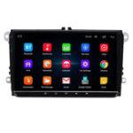 Оригинал 9 дюймов для Android 8.1 Авто Стерео Радио MP5-плеер 1 + 16G Quad Core Сенсорный экран Bluetooth Видеорегистратор WIFI для VW