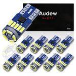 Оригинал AUDEW 10PCS 4014 SMD T10 LED Боковые клиновые габаритные огни 12V