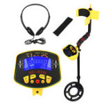 Оригинал MD-3010II Metal Detector LCD Display Deep Treasure Finder Waterproof Coil