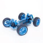 Оригинал Wltoys 1/18 4WD A959 A969 A979 Цельнометаллический RC Авто Шасси RC Модели автомобилей Запчасти