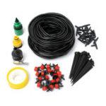 Оригинал Micro Drip Irrigation System DIY Micro Drip Сад Полив Регулируемый Растение Вода Шланг Комплекты