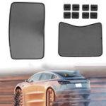 Оригинал Сетка на крыше Авто Окно солнцезащитный козырек для экрана для Tesla Model 3 Skylight Шторы для штор