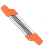 Оригинал 2 в 1 Easy File Chainaw Chain Sharpener 3/8 P Набор для быстрой заточки зубных пил с 2шт 5/32 дюймов Файлов