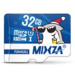 Оригинал Mixza Christmas Shark Limited Edition 32GB U1 Класс 10 TF Микро-карта памяти для цифровых зеркальных фотокамер камера Телевизор Коробка MP3