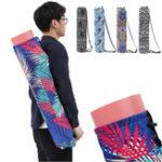 Оригинал KALOAD Печатный Шаблон Холст Yoga Сумка На открытом воздухе Спорт Фитнес плечо Сумка Yoga Рюкзак