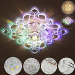 Оригинал 3 Вт 5 Вт Современный Кристалл Кулон Лампа LED Потолочный Светильник Проход Прихожей Гостиная AC110-240V