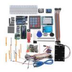 Оригинал Geekcreit® Starter Kits для Arduino Uno R3 – Uno R3 Макетная И Держатель Шаг Мотор/Сервопривод/1602 LCD/Jumper Провод/UNO R3