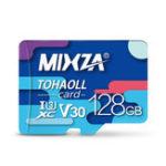 Оригинал MIXZA 128G C10 Профессиональная высокоскоростная карта памяти для мобильного телефона Видеорегистратор IP Sport камера