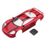 Оригинал Firelap Sports Авто RC Авто Корпус для 1/28 Das87 Wltoys Mini-Q RC Модель автомобиля Красный