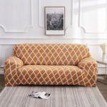 Оригинал 1/2/3/4 Seater Эластичный чехол для дивана Slipcover Settee Stretch Цветочный диван Защитные чехлы на стулья