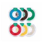 Оригинал 1 кг / рулон 1,75 мм белый / черный / серый / зеленый / оранжевый / Sky синий / темно-коричневый PLA нить для 3D принтера