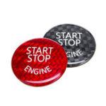 Оригинал Старт Стоп Двигатель Кнопочный выключатель Крышка карбона Для BMW E60 E90 E91 E92 E93 3 Series