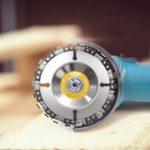 Оригинал Drillpro 2шт. 4 дюймов Цепной Диск Grinder 22 Зуборезный диск для 100/115 Угловая шлифовальная
